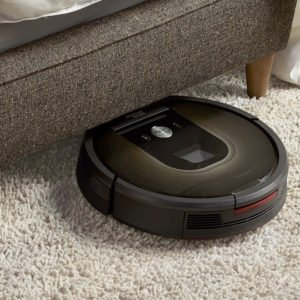 consider getting a robotic vacuum cleaner