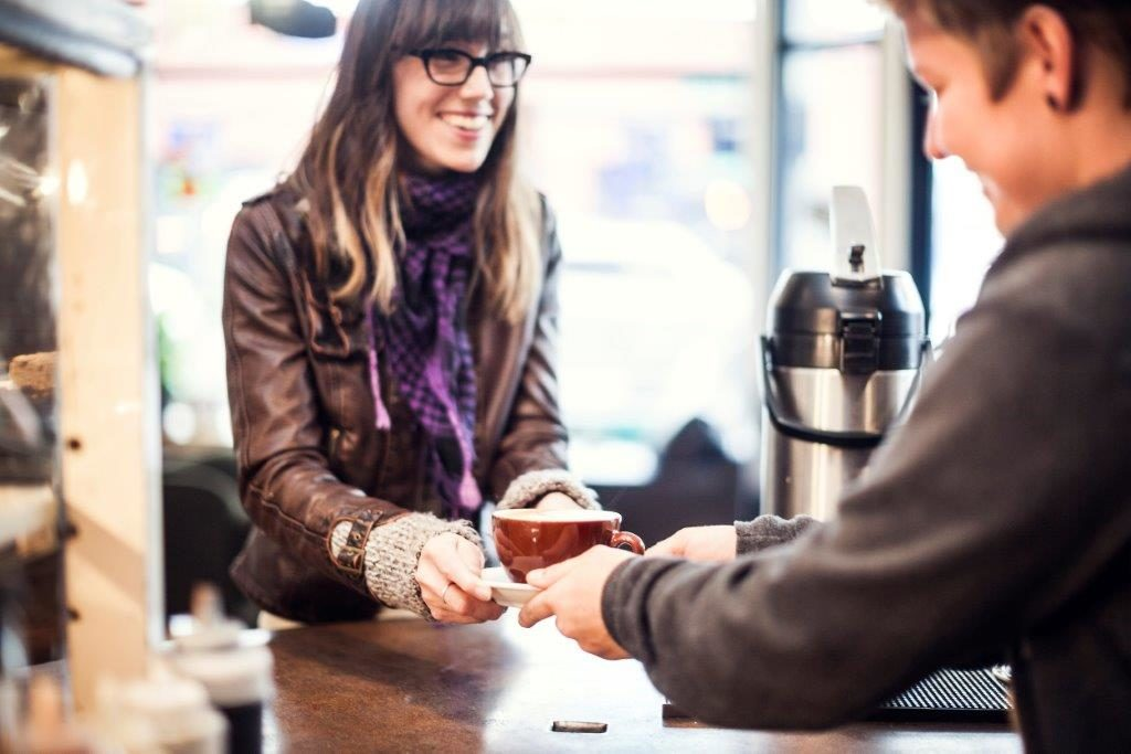 Women spend on coffee