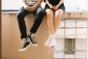 Teens couple