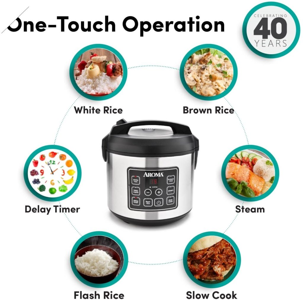 Aroma housewares digital rice cookers