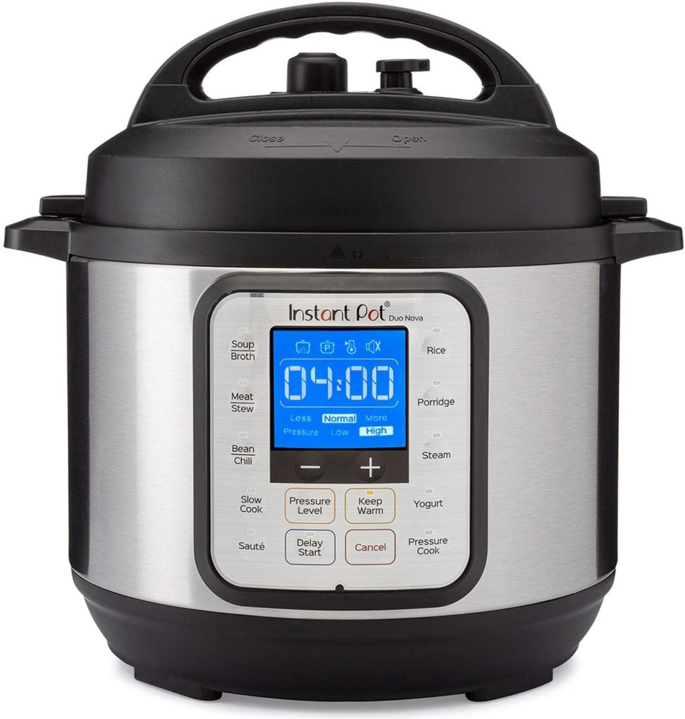 Instant pot duo nova rice cookers