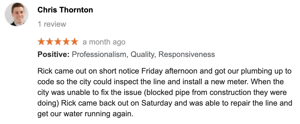 Columbus Plumbers Reviews