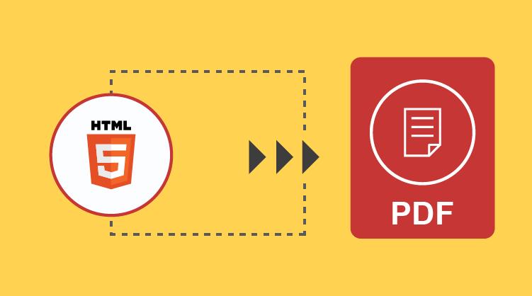 HTML to PDF conversion