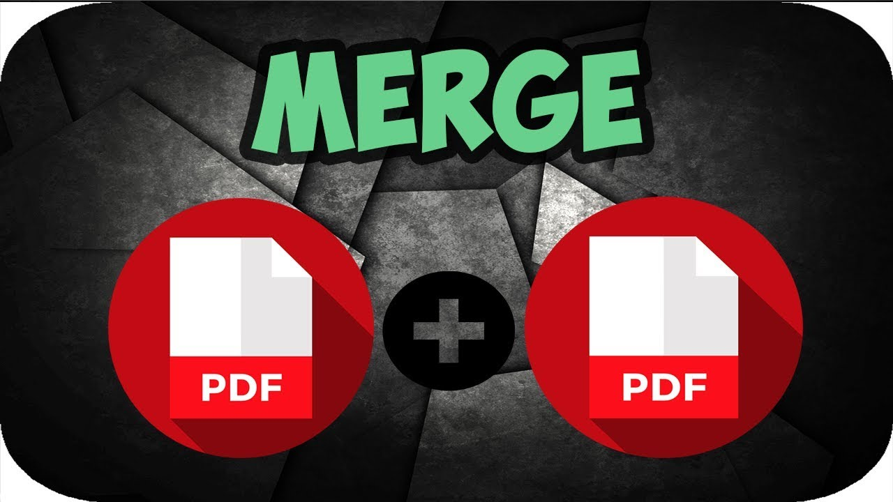 Merge Your PDF Files Into One to Organize Documents