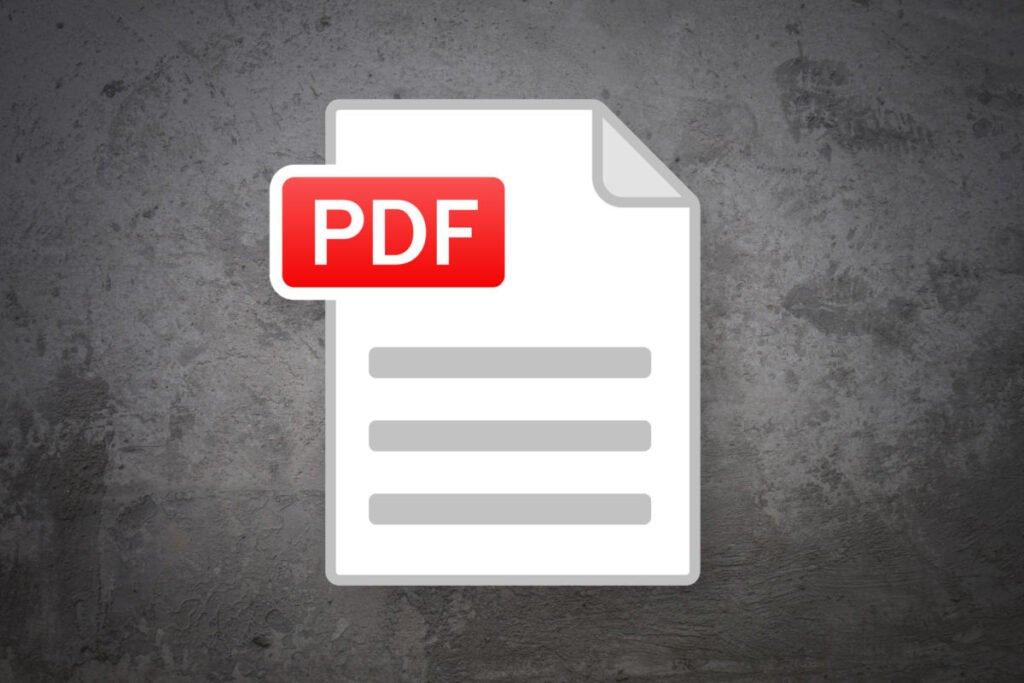 PDF editing tool