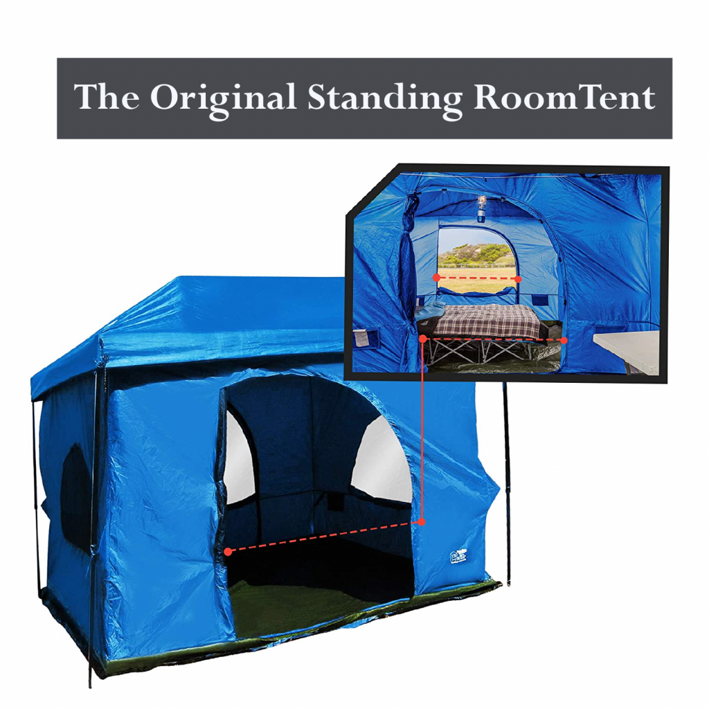 Standing room large family camping tents