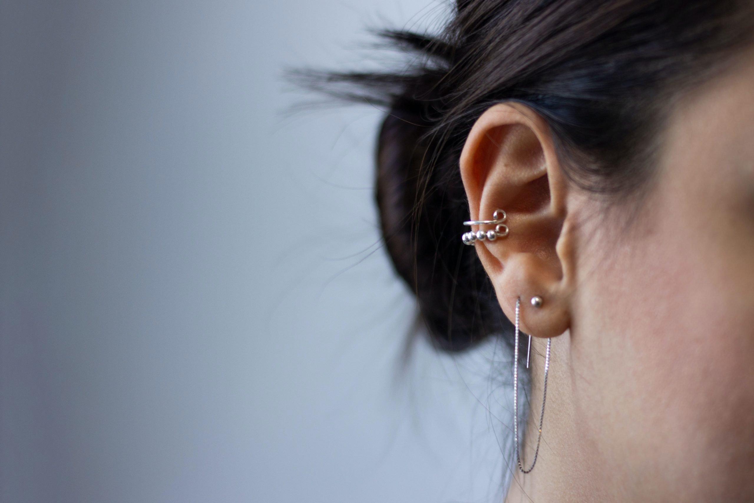 3 Coolest Types of Ear Piercings