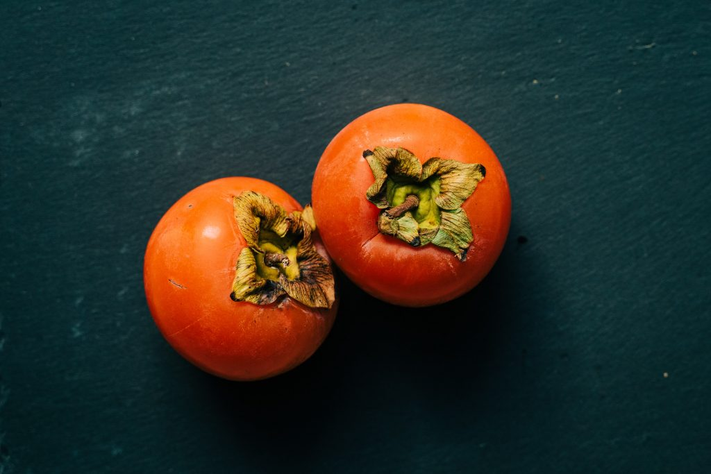 Persimmons fruits